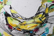 """Бананы"", 2015 Картавая О., холст/акрил"