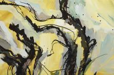 """""""Шепот сосен"""", 2015 Картавая О., холст/акрил"""